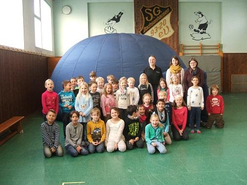 Besuch des Planetariums