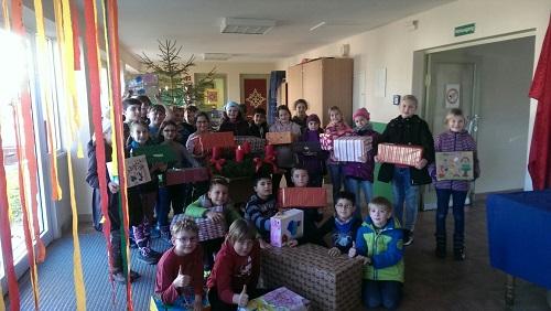 Geschenke für Flüchtlingskinder